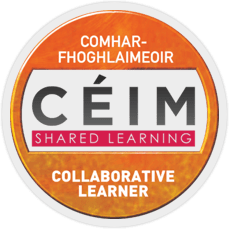 CÉIM Collaborative Learner Badge